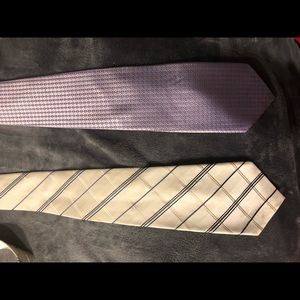 2 ties as bundle Insignia Jones NY SELL AS BUNDLE